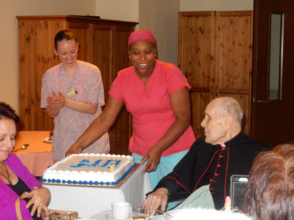 Mgr Varsanyi 70 yrs a Priest (1)
